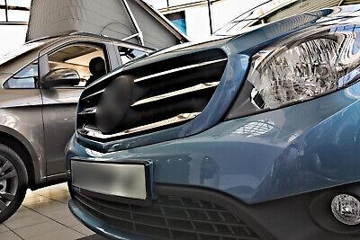 Edelstahl Grill Leisten für Mercedes Citan W415 ab Bj. 2012-