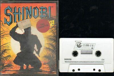 SHINOBI Commodore 64 C64 Videogioco