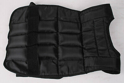 Softie Mens Fitness Vest - Black, Medium/Large 3,2 KG Gewichtsweste