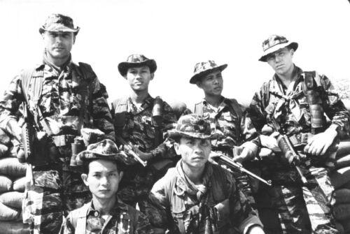 Vietnam War U.S. Army Special Forces Recon Patrol Chu Lai 1966 Glossy 8x10 Photo