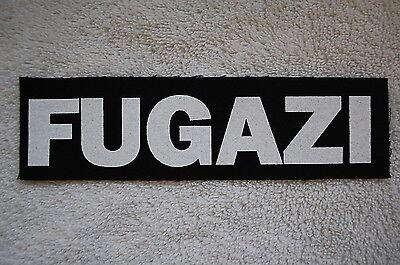Fugazi Cloth Patch (CP140) Punk Rock
