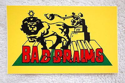 Bad Brains Punk Rock Window Car Bumper  Decal Sticker (S25)