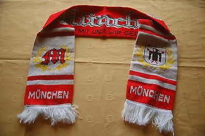 München Gott mit uns wir gegen Alle Fan Schal Fussball Soccer Fanschal