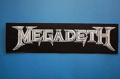 Megadeth Cloth Patch (CP144) Rock Metal Metallica Slayer Pantera Guns and Roses