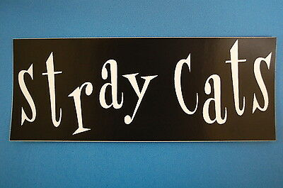 Stray Cats Sticker (S263)