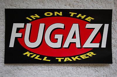 Fugazi Sticker (S226)