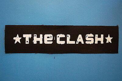 The Clash Cloth Patch (CP16) Punk Rock Social Distortion Joe Strummer cramps X