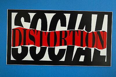 Social Distortion Sticker Decal (67) Mike Ness Punk Rock Car Window Sticker