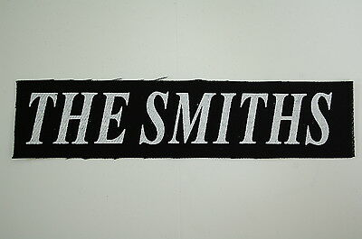The Smiths Cloth Patch (CP198) Rock Morrissey Joy Division Radiohead Siouxsie