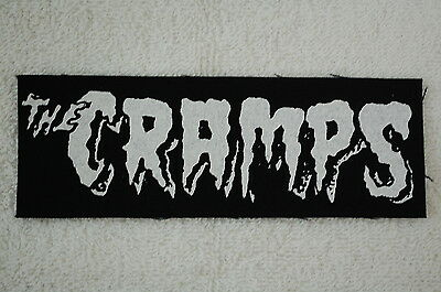 The Cramps Rock Mad Sin Reverend Horton Heat Nekromantix Cloth Patch (CP114)