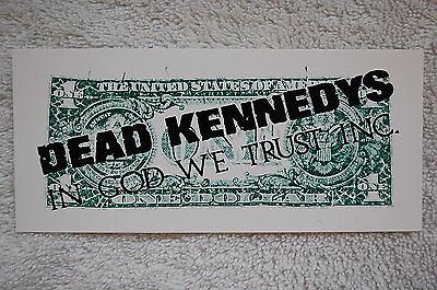 Dead Kennedys Sticker (S36)