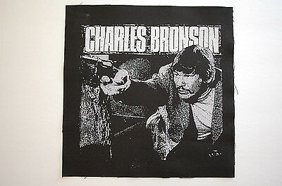 Charles Bronson Backpatch (BP8) Punk Rock Back Patch Crust Doom Dirt Aus Rotten