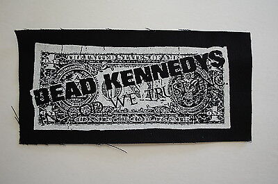 Dead Kennedys Backpatch (BP13) Punk Rock Back Patch Subhumans Adicts Sex Pistols