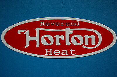 Reverend Horton Heat Sticker Decal (S193) Mad Sin Rock A Billy Nekromantix Car