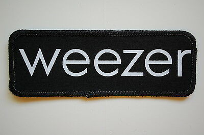 Weezer Sewn Patch (SP1149) Rock
