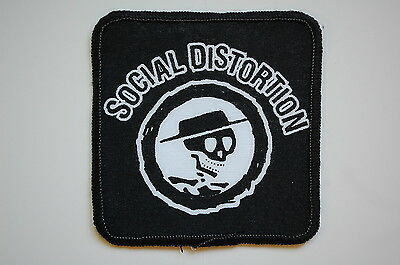 Social Distortion Sewn Patch (1181) Rock Mike Ness Punk Johnny Cash Rockabilly