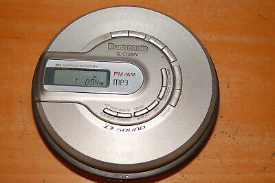 PANASONIC SL-CT582V FM/AM MP3 PORTABLE CD PLAYER for sale  Shipping to India