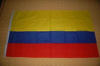 Kolumbien Flagge Fahne Hißflagge 90 x 150 cm
