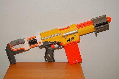 Nerf N-strike Alpha Trooper CS-6 Yellow Blaster w/ Modulus Stock & Clip (12R)