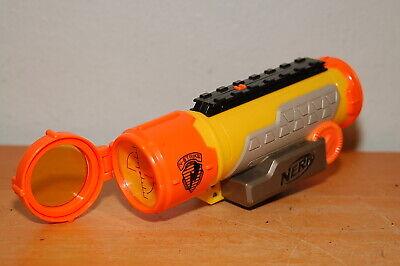 RARE Nerf N-Strike Tactical Scope w/ Lens Yellow Orange