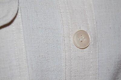 Surchemise ou chemisier chemise beige lin marque sym t 38 manches rÉglables