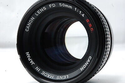 Canon FD 50mm F1.4 S.S.C. Lens SN928232