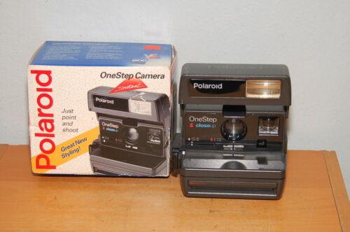 Polaroid Instant Camera, One Step Close Up,Film 600 w/ Box