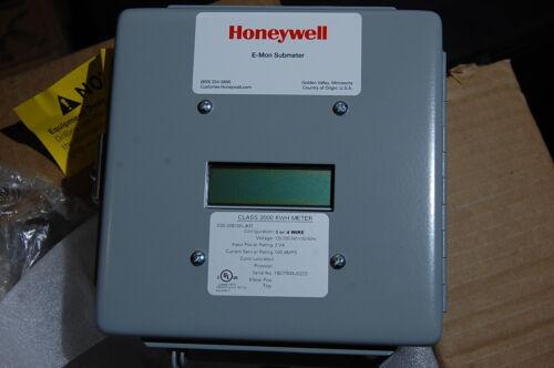 New Honeywell E20-208100-JKIT Class 2000KWH E-Mon Submeter 100A 3Ph Power Meter