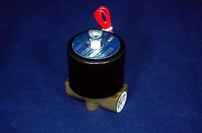 38 22 Way Electric Solenoid Valve 12v Dc-volt Air Gasfuel Brass Body