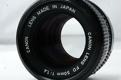 Canon NEW-FD 50mm F1.4 Lens  SN4633536