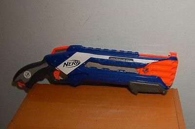 NERF N-Strike Elite Roughcut 2x4 Dart Blaster Gun Toy Blue Hasbro 2012