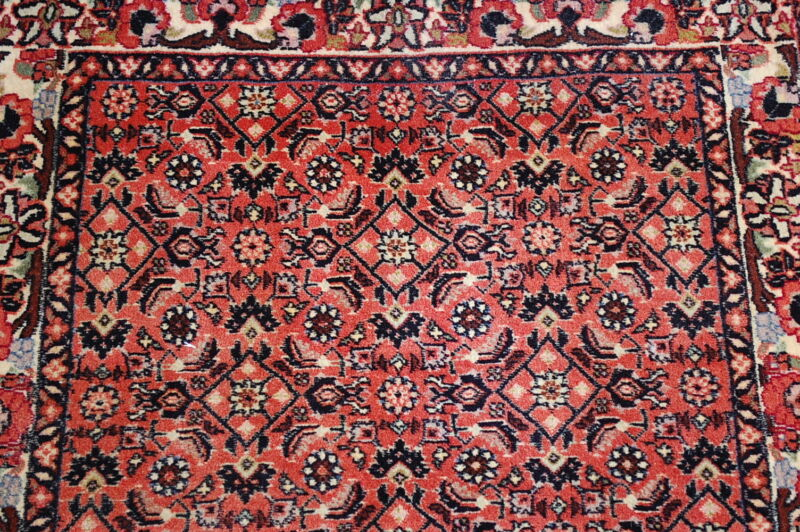 C1930s Antique Highly Detailed Fine Classic Prsian Bijar Rug 2.7x4 High Kpsi