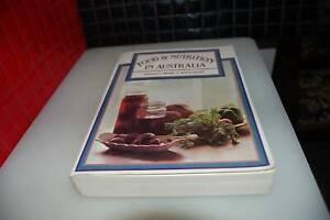 Book Food & Nutrition in Australia   Mark L Wahlqvist Zeehan West Coast Area Preview