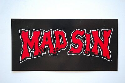 Mad Sin Sticker Decal (469) Psychobilly Rockabilly Meteors Reverend Horton Heat