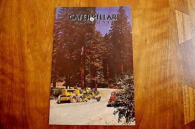 Caterpillar Magazine Issue 75 Dozer Crawler Tractor Vintage Antique Rare Edition