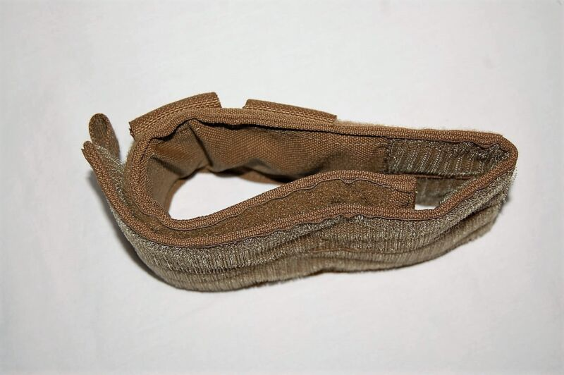 USMC COYOTE MILITARY ISSUE MOLLE II SLUNG WEAPON BELT CATCH IN EXCELLENT CONDTN
