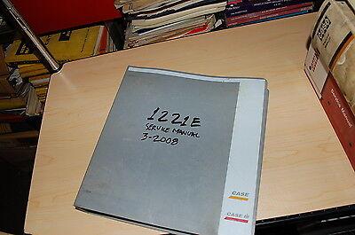 Case 1221e Front End Wheel Loader Repair Shop Service Manual Book Overhaul 2008