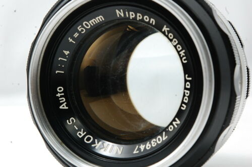 **Not ship to USA** Nikon NIKKOR-S Auto 50mm F1.4 Non-Ai Lens  SN703947