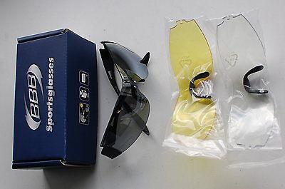 BBB Rounder BSG-34 Fahrradbrille schwarz