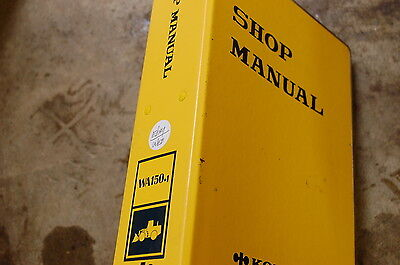 Komatsu Wa150-1 Front End Wheel Loader Service Repair Manual Book Shop Overhaul