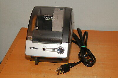 Brother Ql-500 P Touch Thermal Label Printer W Power Cable