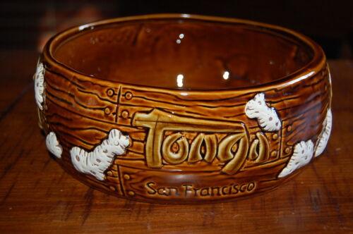 BRAND NEW! TONGA ROOM FAIRMONT HOTEL SAN FRANCISCO, CA  PORTHOLE TIKI BOWL MUG