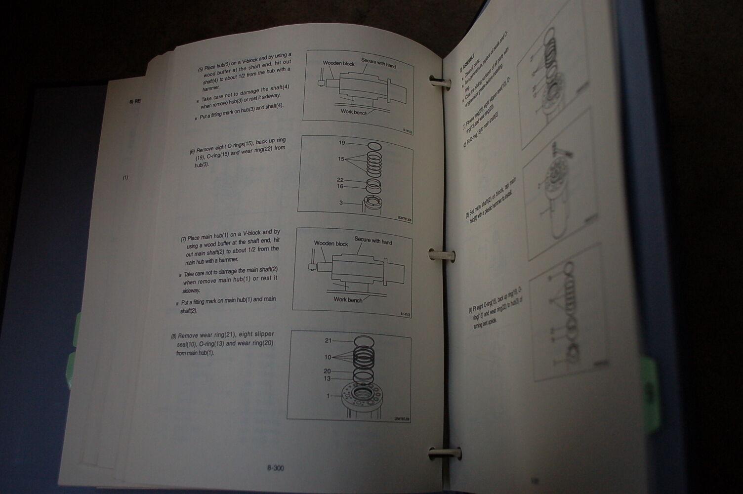 10 of 11 HYUNDAI HSL 800-7 Skid Steer Loader Service Manual book repair  overhaul shop