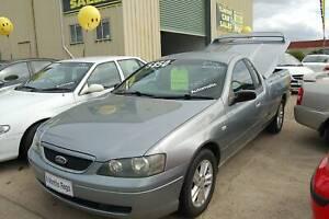 2004 FORD FALCON BA SE SUPER CAB UTE AUTO 3 SEATER 200,336 K'S