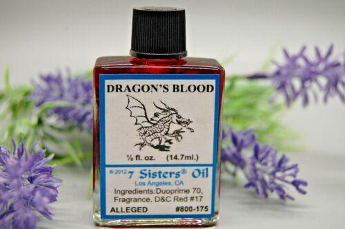 Dragons Blood Oil (1) 4DRMs, Protection, Love, Banishing,  Santeria, Hoodoo,