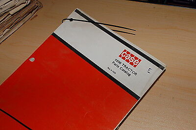 Case Ih 1690 Tractor Parts Manual Book List Catalog Spare Farm Engine 8-1520 Use