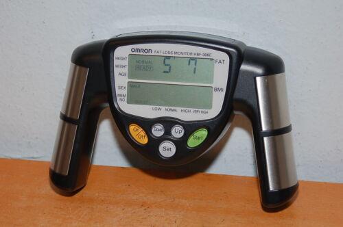 Omron HBF-306C Fat Loss BMI Monitor Tracke - Black