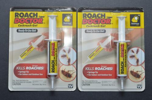 Lot of 2 BRAND NEW SEALED Roach Doctor Cockroach Gel Ready-to-use-Bait