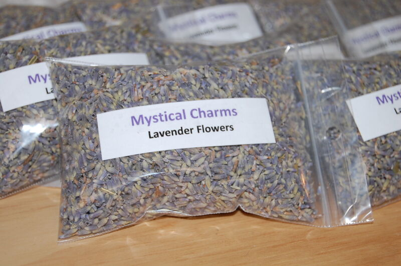 Lavender Flowers whole Dried Organic Herb, Sleep, dream Pillows, Relaxation