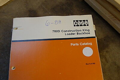 Case 780d Backhoe Loader Tractor Parts Manual Book Catalog List Spare Front End